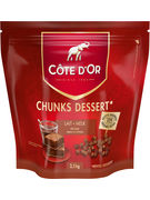 COTE D OR CHUNKS LAIT 2,5KG