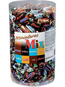 CELEBRATIONS MIXED MINIATURES TUBES 3KG (296P)