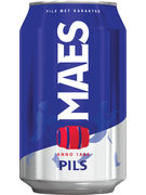 MAES PILS 5,2° CANS 33CL 6-PACK