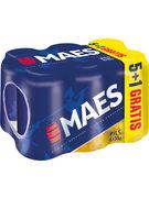 MAES PILS 5,2° CANS 33CL 5+1