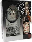 COFFRET VAL DIEU CUVEE 800 75CL + 1 VERRE GRATIS
