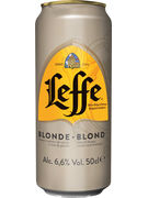 LEFFE BLONDE 6,6° CANS 50CL