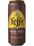 LEFFE BRUNE 6,5° CANS 50CL