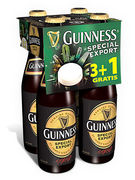 CASIER GUINNESS 8° VC 33CL (3+1)