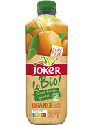 JOKER NECTAR D ORANGE SANS PULPE BIO PET 1L