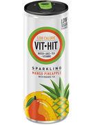 VIT HIT SPARKLING MANGO & PINEAPPLE CANS 33CL