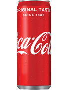 COCA COLA SLEEK CANS 33CL 6-PACK
