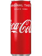 COCA COLA REGULAR CANS 25CL