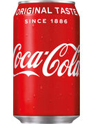 COCA COLA FAT CANS 33CL