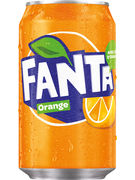FANTA ORANGE FAT CANS 33CL