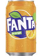 FANTA ORANGE FAT CANS 33CL