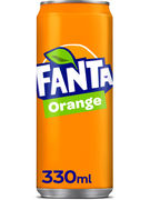 FANTA ORANGE SLEEK CANS 33CL
