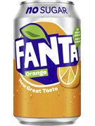 FANTA ZERO ORANGE FAT CANS 33CL