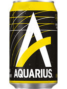 AQUARIUS LEMON CANS 33CL