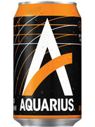 AQUARIUS ORANGE CANS 33CL