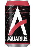 AQUARIUS RED PEACH CANS 33CL