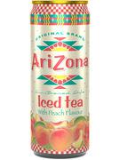 ARIZONA PEACH ICED TEA CANS 33CL