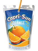 CAPRI-SUN ORANGE POUCH STEVIA  20CL