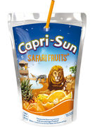 CAPRI-SUN SAFARI FRUITS POUCH 20CL