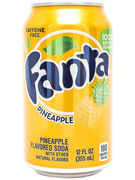 FANTA PINEAPPLE 12OZ CANS 355ML