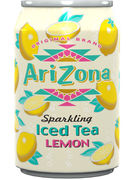 ARIZONA SPARKLING ICE TEA LEMON FAT CANS 33CL