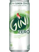 GINI ZERO SLEEK CANS 33CL
