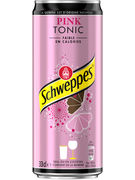 SCHWEPPES PINK TONIC SLEEK CANS 33CL