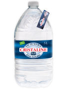 CRISTALINE EAU DE SOURCE PLATE PET 5L