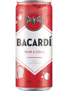 BACARDI-COLA 5° CANS 25CL