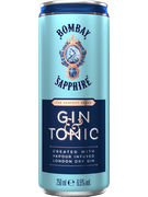BOMBAY SAPPHIRE GIN & TONIC 7° CANS 25CL