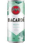 BACARDI MOJITO 5° CANS 25CL