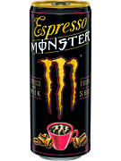 MONSTER ESPRESSO LAIT CANS 250ML