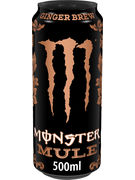 MONSTER ENERGY MULE GINGER CANS 50CL