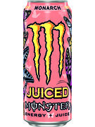 MONSTER ENERGY JUICED MONARCH CANS 50CL