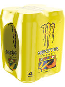 MONSTER ENERGY THE DOCTOR/ ROSSI CANS 50CL 4-P