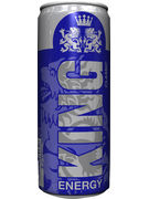 KING ENERGY DRINK CANS 25CL