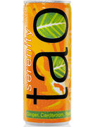 TAO WELLNESS & SERENITY ORANGE CAN  25CL