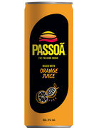 PASSOA ORANGE PREMIX CANS 25CL 5°