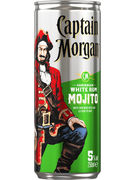 CAPTAIN MORGAN & MOJITO 5° CANS 25CL