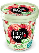 MDLG PINT POP FRUIT BIO FRAISE 375GR