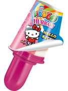 STICK PIRULO HURRAH HELLO KITTY + SITCKER 21X80ML