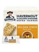 QUAKER BARS GOLDEN SYRUP 5X35GR