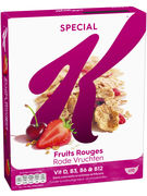 KELLOGG S SPECIAL K FRUITS ROUGES 300G (OV 5)