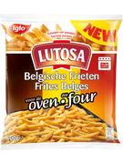 LUTOSA FRITES BELGES AU FOUR 600GR
