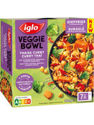 IGLO VEGBOWL CURRY THAI 380GR