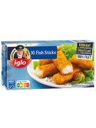 IGLO FISH STICKS -10P- 300GR