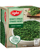 IGLO EPINARDS HACHES 450GR
