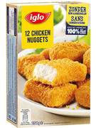 IGLO CHICKEN NUGGETS 12P  250GR