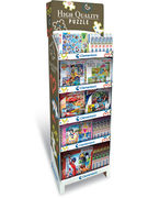 DISPLAY PUZZLES AVEC LICENCE 34 MODELES 80 PCES