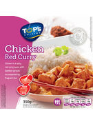 TOPS RED THAI CHICKEN WITH FRAGRANT RICE 350GR(OV 6)